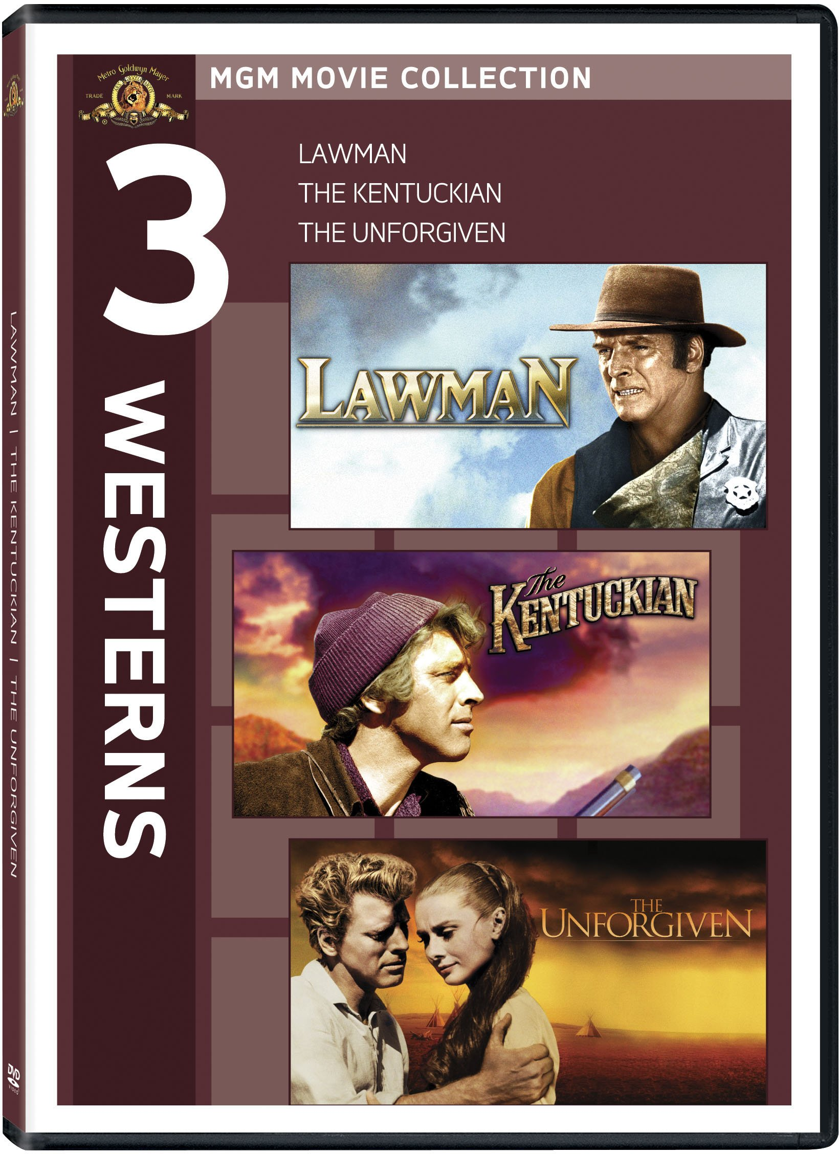 Lawman / The Kentuckian / The Unforgiven