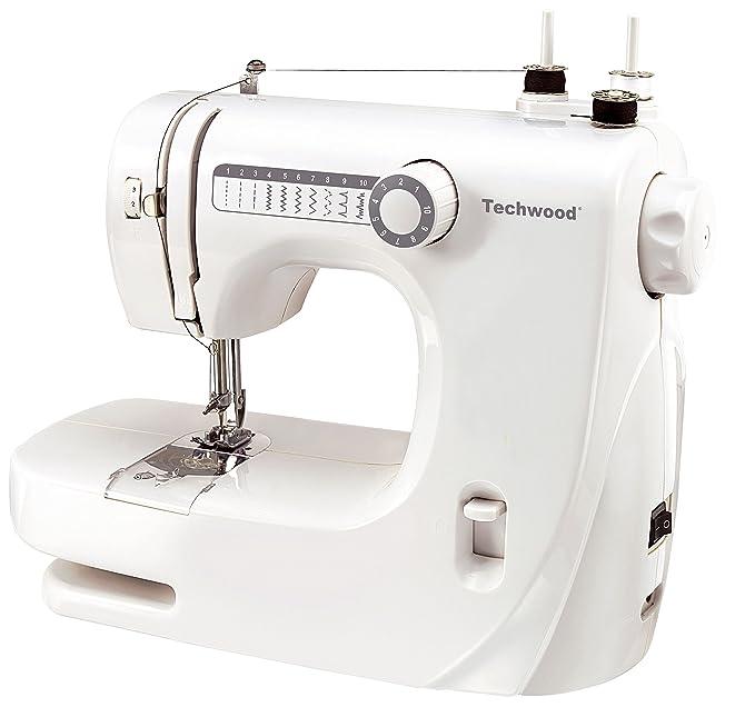 15 opinioni per Techwood TMAC-608macchina da cucire bianco
