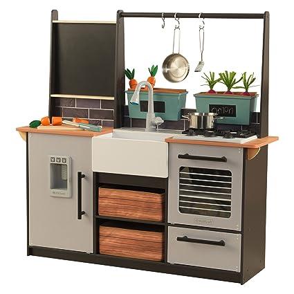 Amazon.com: KidKraft - Cocina de cultivo a mesa con montaje ...