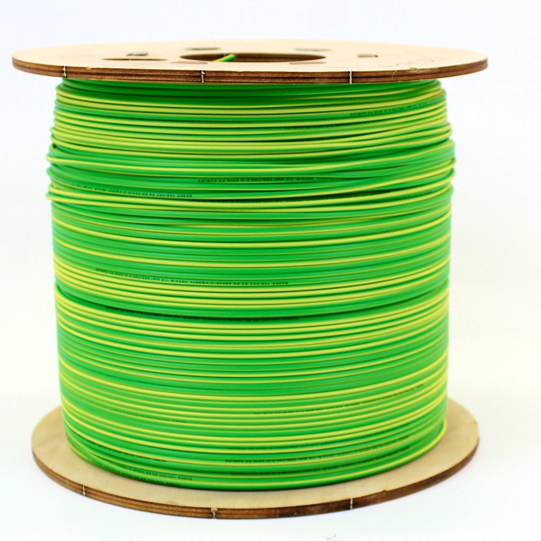 1 metre Cut Length 2.5 mm Single Core Conduit Cable 6491X Blue Live