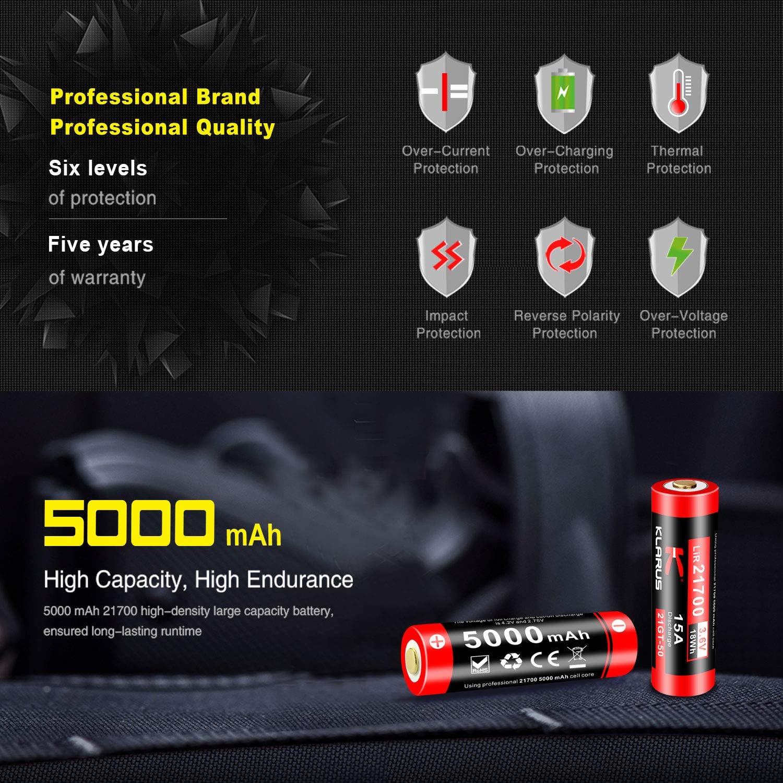 5000 mhw battery