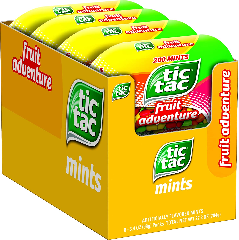 Tic Tac Fresh Breath Mints, Fruit Adventure