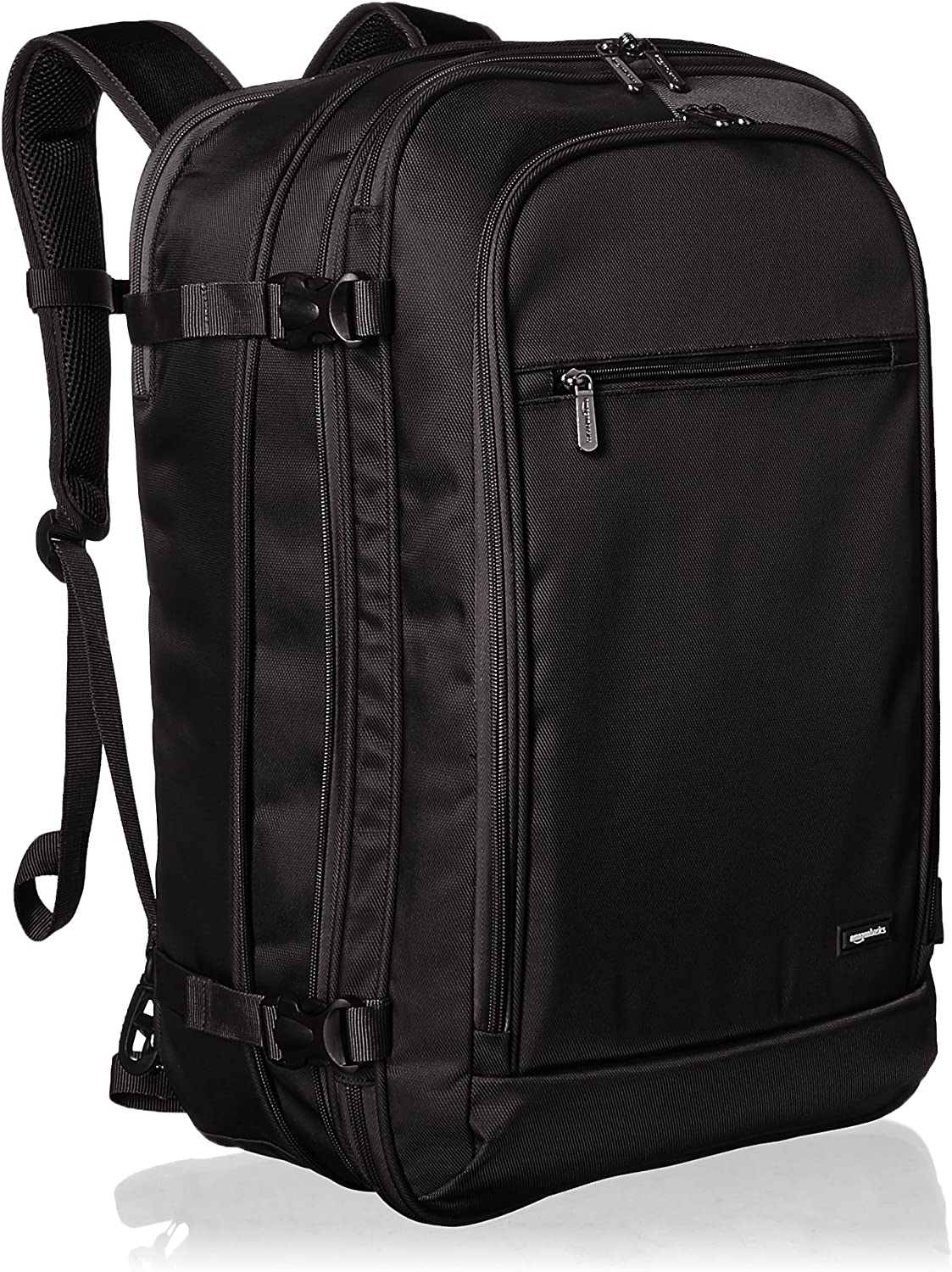 | Basics Carry-On Travel Backpack - Black | Casual Daypacks