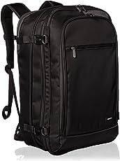 AmazonBasics - Mochila de viaje para uso como equipaje de mano, color negro