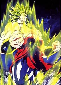 Fabulous Poster Cartel Broly Dragon Ball Super Saiyan