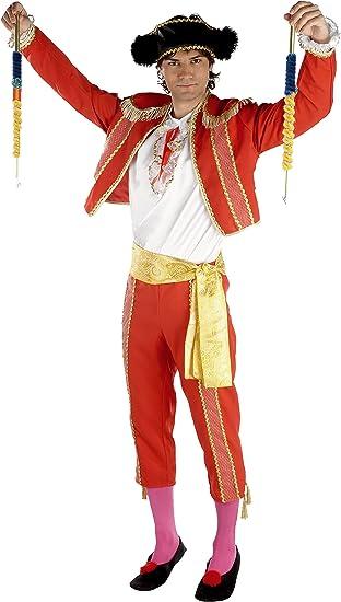 Disfraz Torero Rojo (Talla Unica M): Amazon.es: Juguetes y juegos