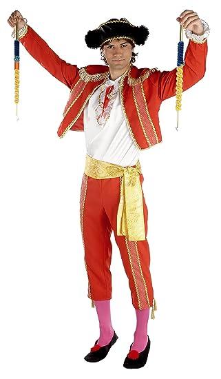 Disfraz Torero Rojo (Talla Unica M): Amazon.es: Juguetes y ...