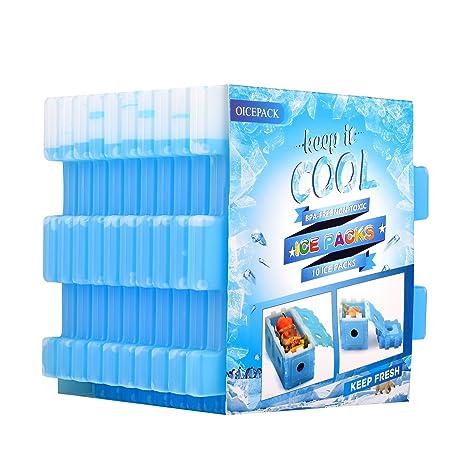 Amazon.com: OICEPACK - Paquete de 10 paquetes de hielo frío ...