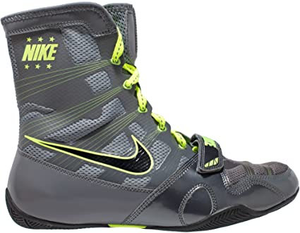 Nike HyperKO MP – Botas de Boxeo Us, Gris (Grey/Volt)
