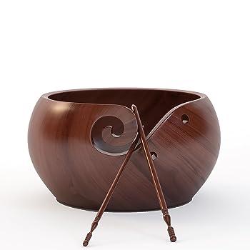 Ravel Wooden Yarn Bowl Set