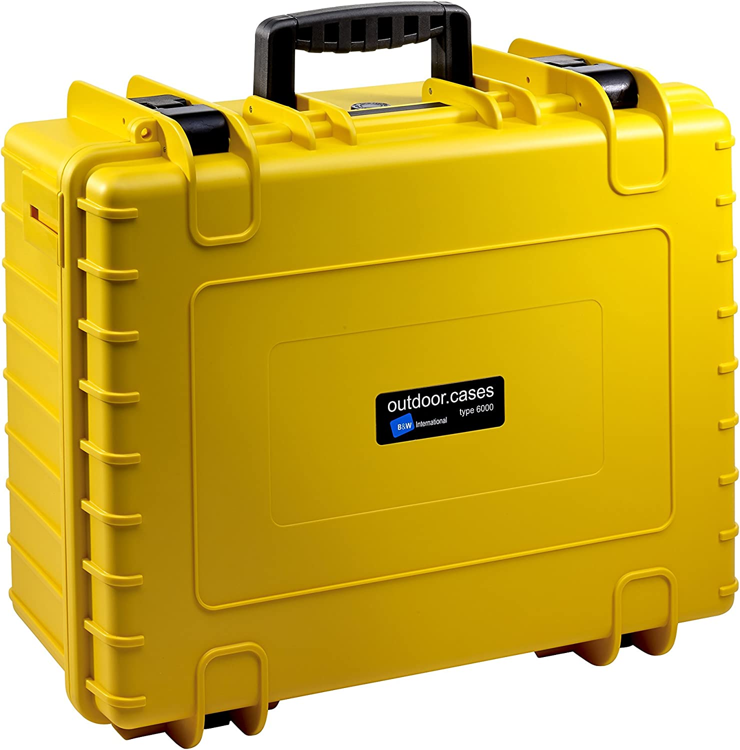 / The Original B /& W Outdoor Cases Type 6000/ Yellow Empty with Backpack Strap System/