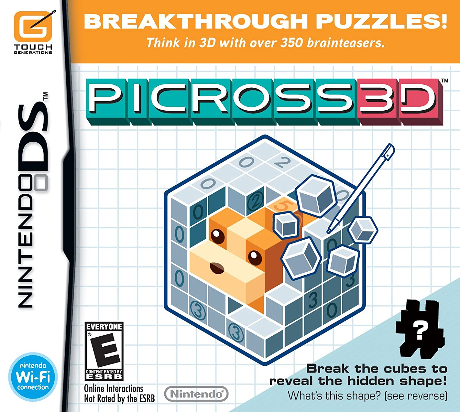 Amazon.com: Picross 3D - Nintendo DS: Video Games
