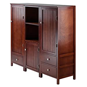 Winsome Wood Brooke 3-PC Jelly Cupboard Set