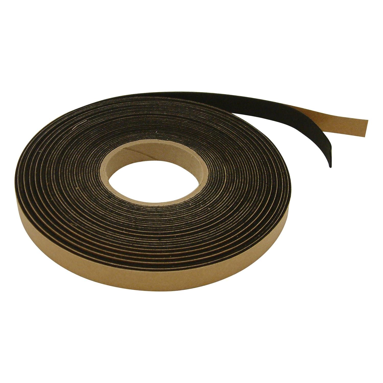 2 in JVCC FELT-065 Polyester Felt Tape 1.5mm Thick, Black x 10 ft.