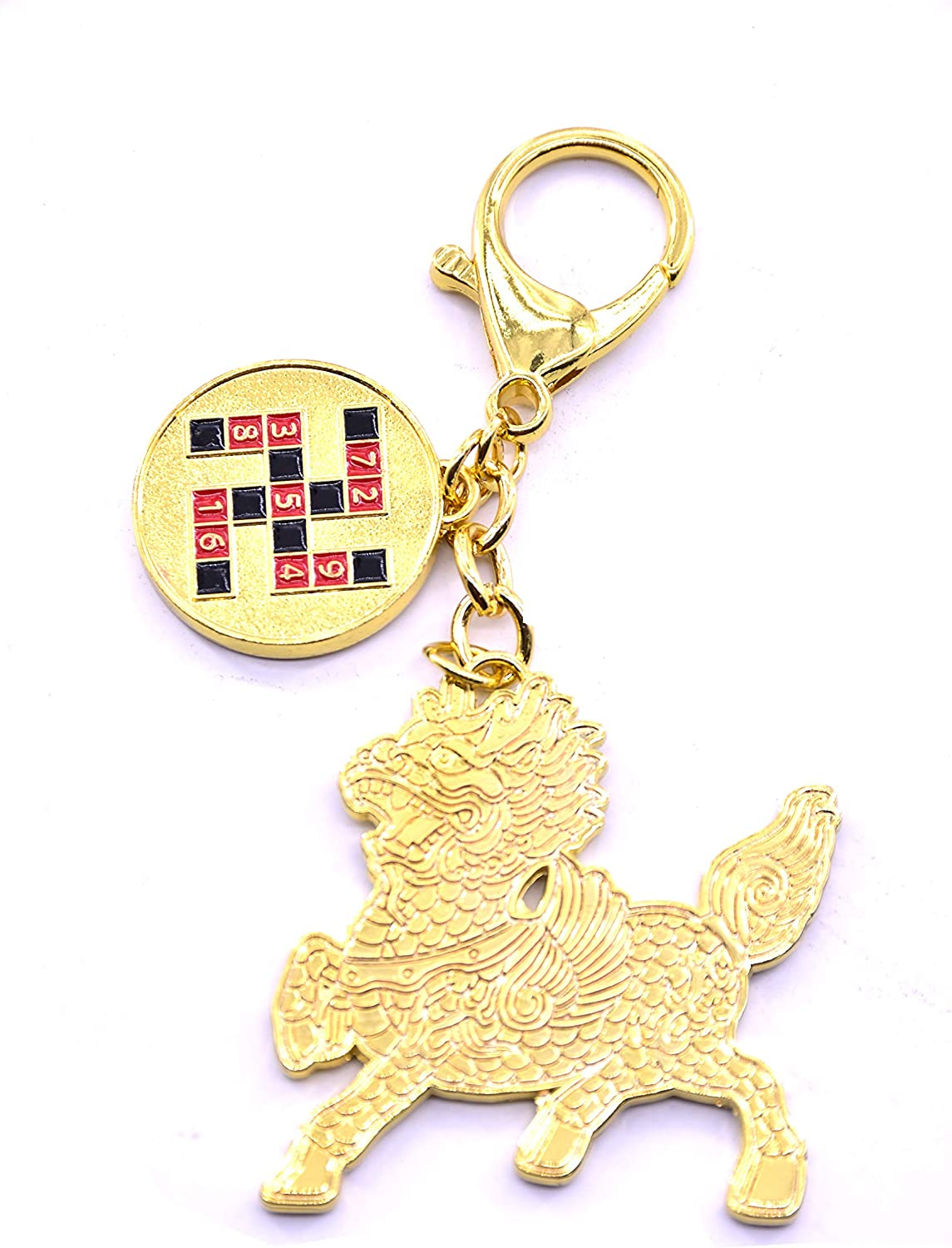 LHR trading inc 2020 Feng Shui Protection and Blessing Coins Amulet Keychain