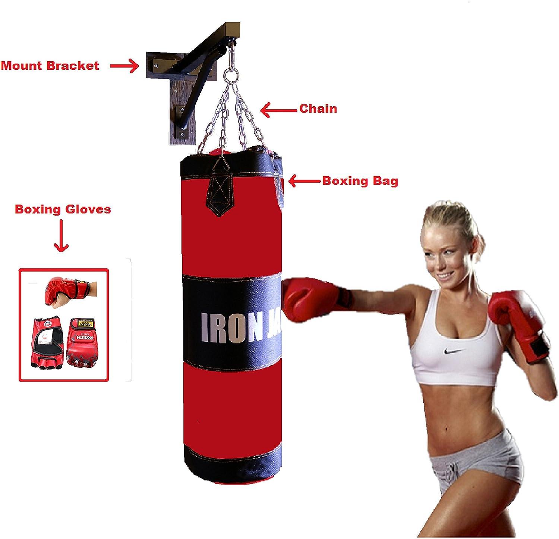 RDX Heavy Duty 2ft Folding Wall Bracket Steel Mount Hanging MMA Boxing Punching