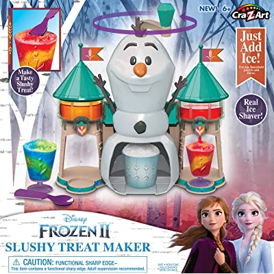 Cra-Z-Art Disney Frozen II Slushy Treat Maker: Toys & Games