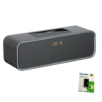 Dual... with 2x5W Acoustic Drivers Portable Bluetooth Stereo Speaker