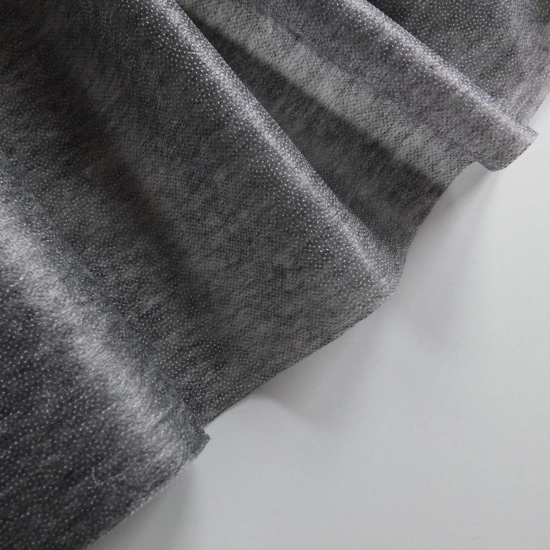 se vende por metros para uso en negro y otros colores oscuros Tela termoadhesiva