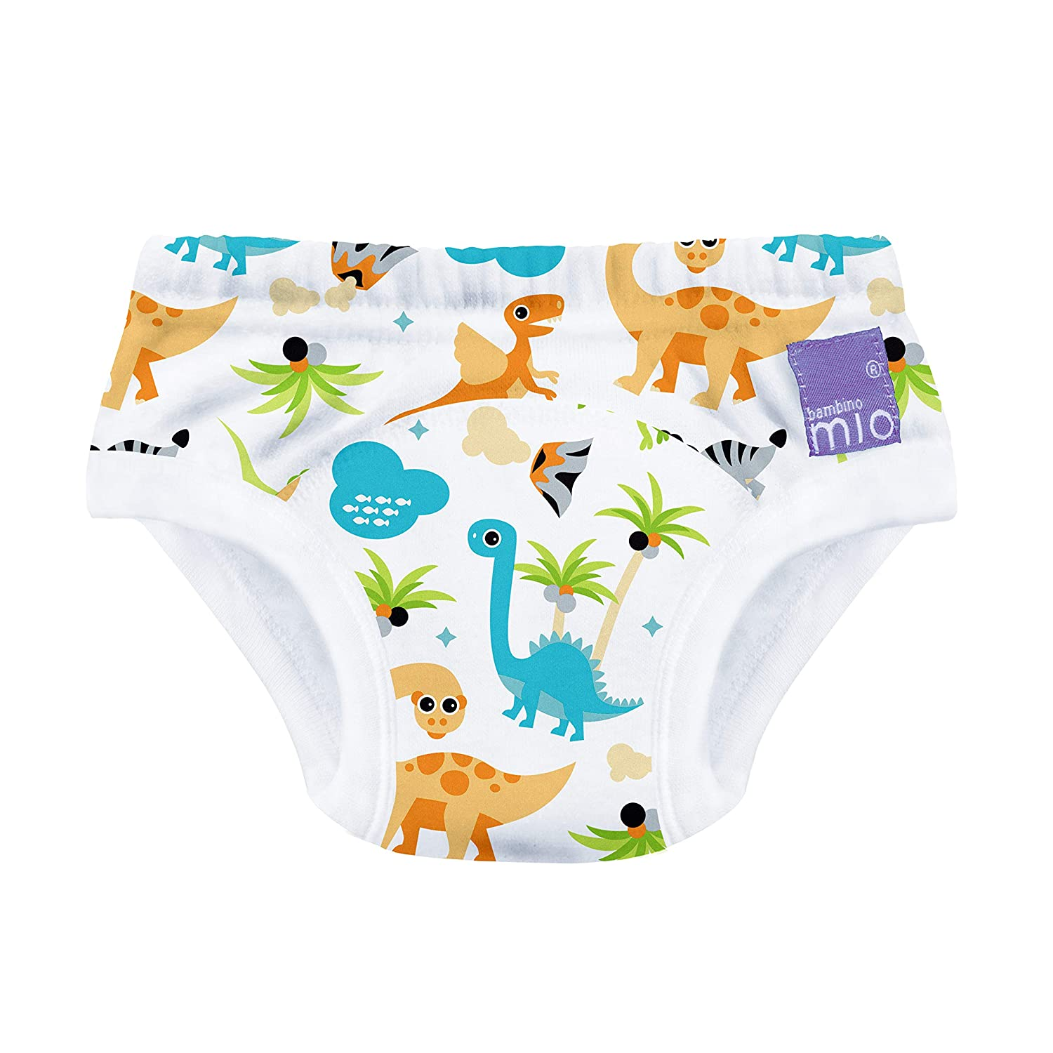 Skhls Unisex-Baby Reusable Cute Potty Training Pants Nappy Underwear 3 Pack