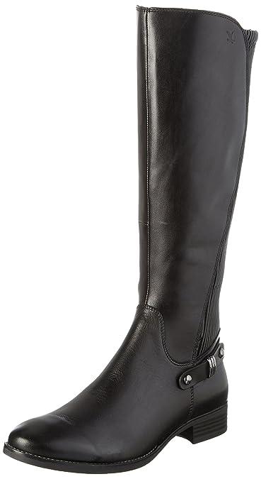 dade5fb73c737 Caprice Women's 25520 Long Boots, Black (Black Comb 19), ...