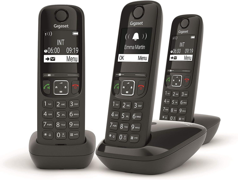 Gigaset AS690 - Teléfono portátil inalámbrico con Manos Libres: Amazon.es: Electrónica