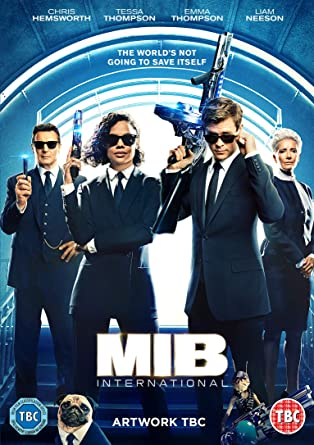 Men In Black: International [DVD] [2019]: Amazon co uk