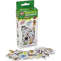 Birlik Oyuncak Manyetik 32 Parça Hayvanlar Seti, Karma (Birlik Oyuncak 1234)