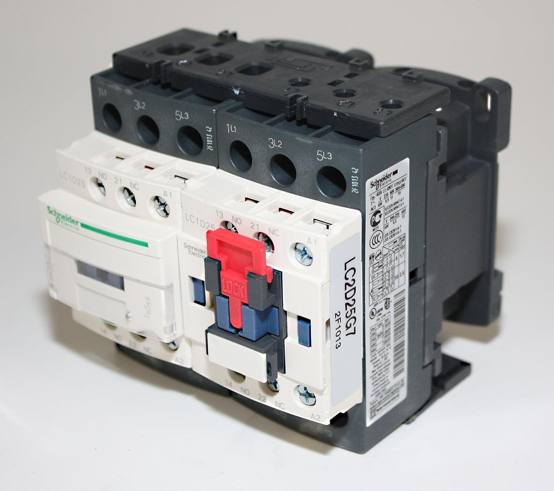 Telemecanique LC2D25G7 Contactor 11KW 15HP Schneider Electric Motor Starter