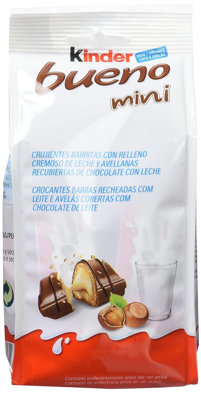 Kinder Bueno - Mini Pack de 20 - , Pack de 6: Amazon.es: Alimentación y bebidas