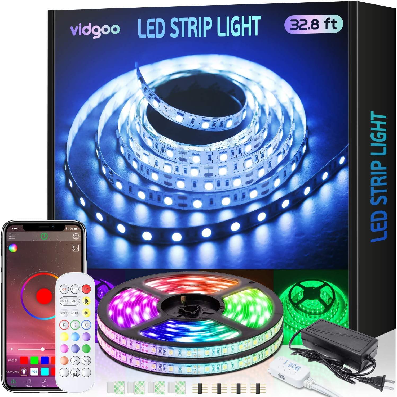 RGB Decoration Light Strip Kits with IR Remote Control