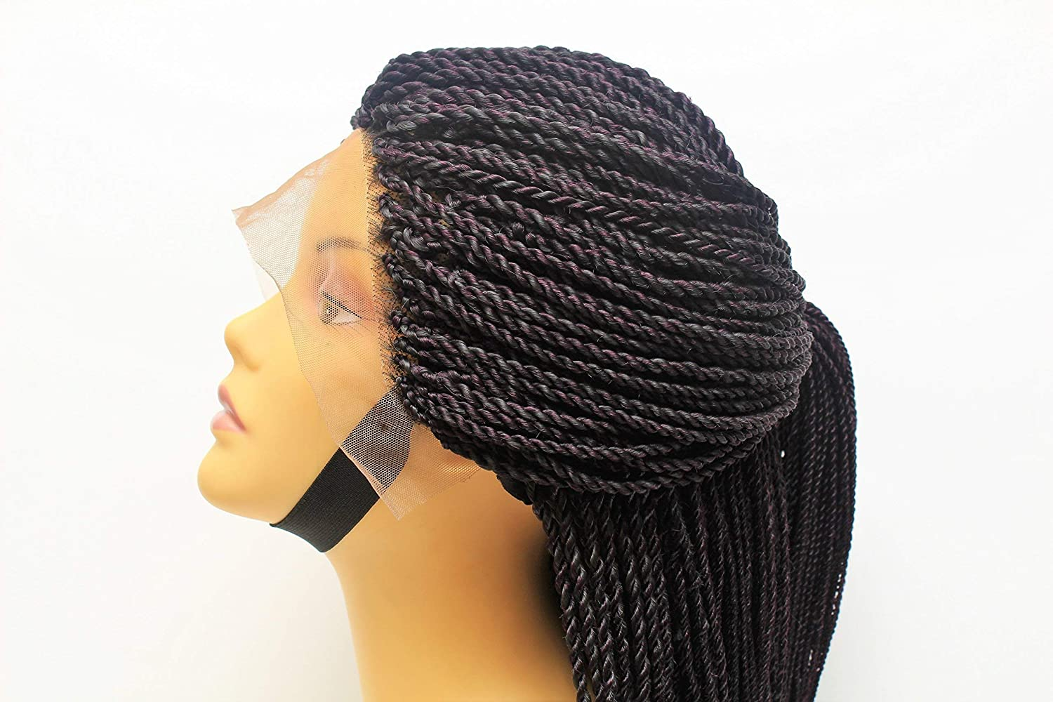 Senegalese Twist Wig Braided Wig For Black Women Lace Front Braided Wig