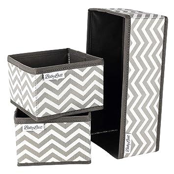 Babylovit - Caja de Almacenamiento Plegable para baño, cómoda para ...