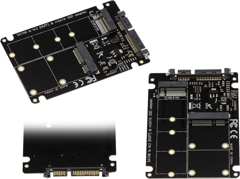 Kalea-Informatique - Adaptador M.2 (NGFF) y/o mSATA miniPCIe a ...