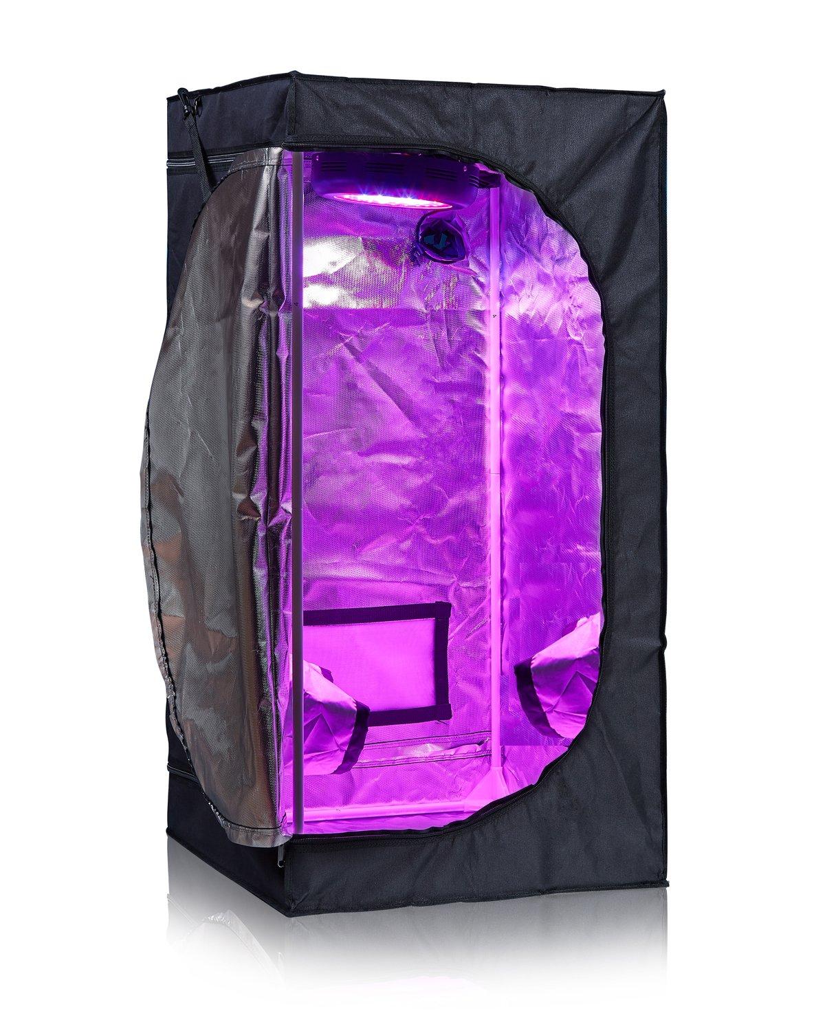 TopoLite 2×2×4 – Best Budget Small Indoor Grow Tent