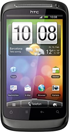 HTC Desire S - Smartphone libre Android (pantalla táctil de 3,7 ...
