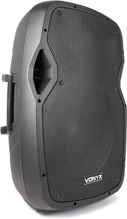 Vonyx AP1500A Ap Series - Altavoz ABS, Negro