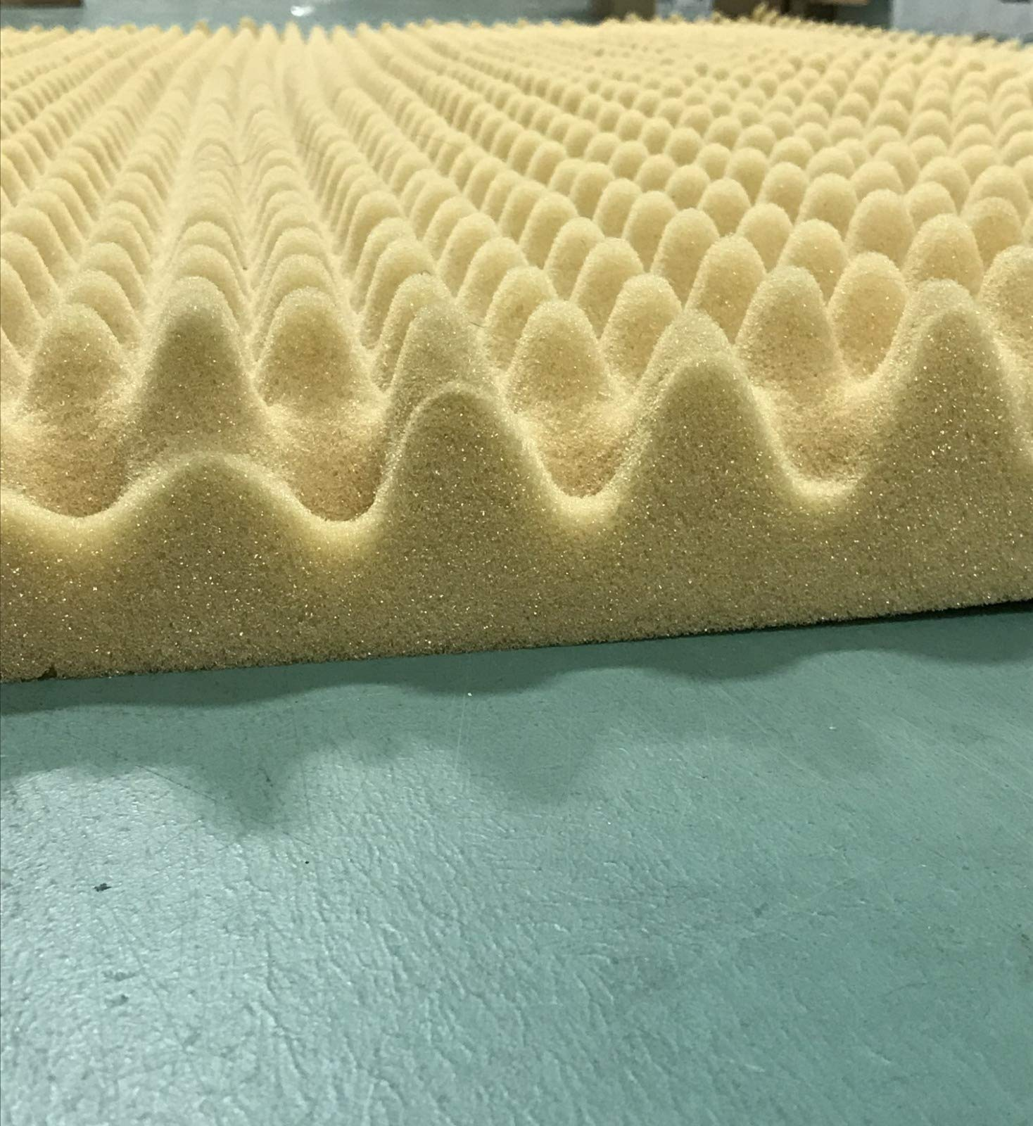 Egg Crate Convoluted 3 Inch Foam Mattress Pad / Topper ...