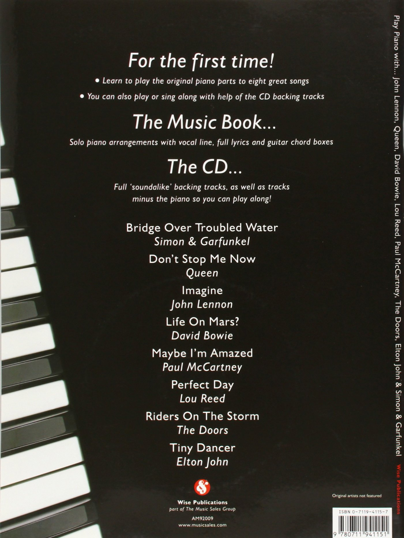 Play Piano With John Lennon Queen David Bowie Lou Reed Paul