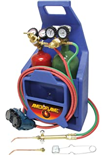 Ameriflame R250-540 Medium Duty Single Stage Oxygen Regulator with CGA540 Inlet Uniweld Products Inc.
