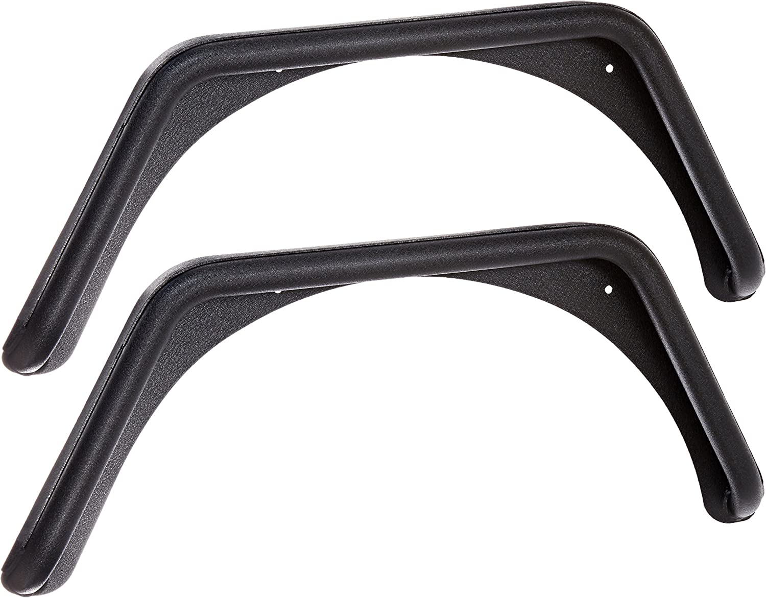 Smittybilt XRC Rear Bolt-on Flares for TJ - 76875, Textured Black