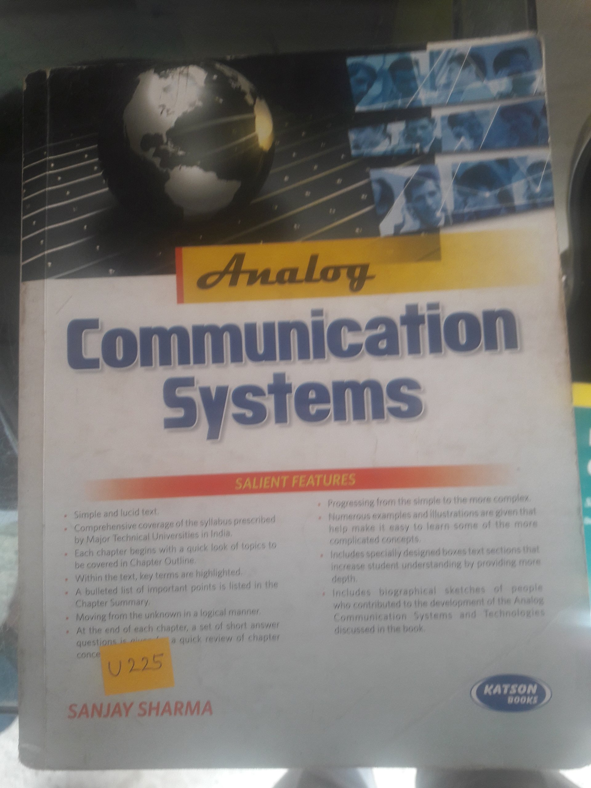 Buy Analog Communication Systems Book Online At Low Prices In India
