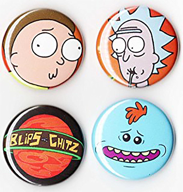 Chapas Rick y Morty