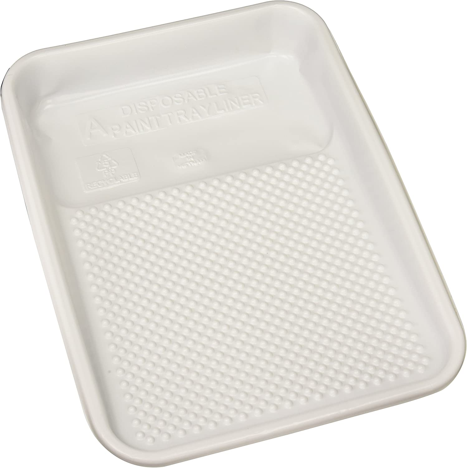 Linzer RM 4110 Plastic (10 Pack) Paint Tray Liner. (10-Pack), White