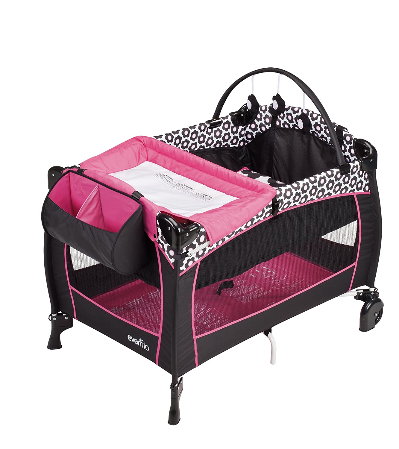 Baby crib playard - Amazon Com Evenflo Portable Babysuite 300 Marianna Playards Baby