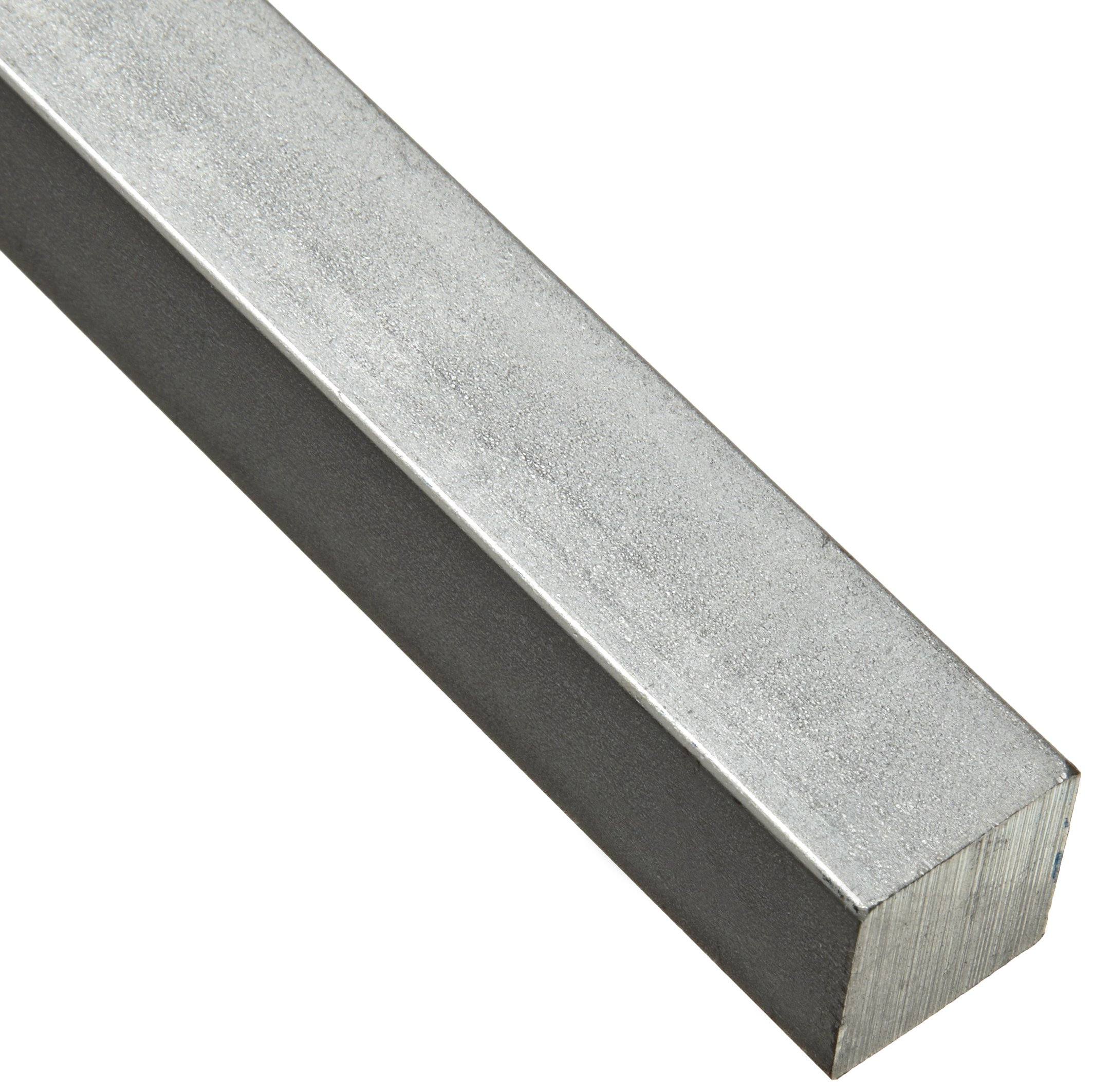 Steel Key Stock, Zinc Plated, Oversized Tolerance, 1-3/4'' Thickness, 1-3/4'' Width, 12'' Length (Pack of 1) by Small Parts