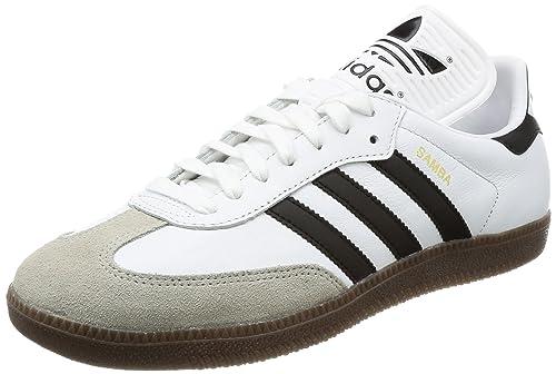 the best attitude 98ef0 6f28c adidas Originals Men s Samba Classic Og Trainers Footwear Core Gum US8 White