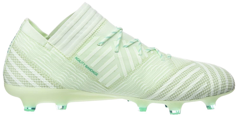 Adidas Nemeziz-17.1 FG Chaussures de Football Homme Vert (Aergrn/Aergrn/Hiregr Aergrn/Aergrn/Hiregr)
