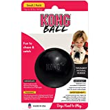 KONG Extreme Ball Dog Toy - Small, Black
