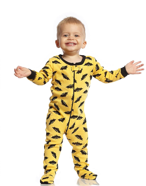 fafcdf2eeb90 Amazon.com  Leveret Baby Boys Girls Footed Pajamas Sleeper Halloween ...